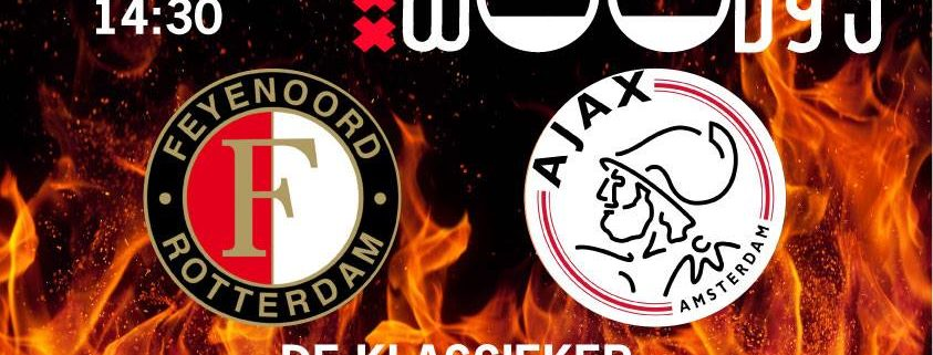 23 Oktober Feyenoord tegen Ajax